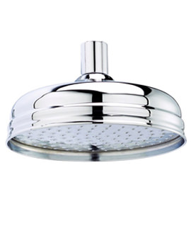 Apron Fixed Shower Head Chrome