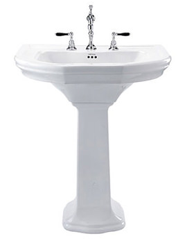 Bergier 705mm Large Basin And Full Pedestal