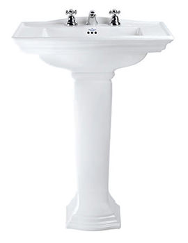 Westminster Large Basin And Full Pedestal 685mm - WM1LB11030