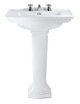 Westminster Large Basin And Full Pedestal 685mm - WM1LB11030