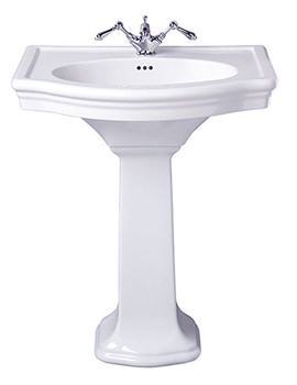 Firenze Large Basin 705mm With Full Pedestal - FI1LB11030