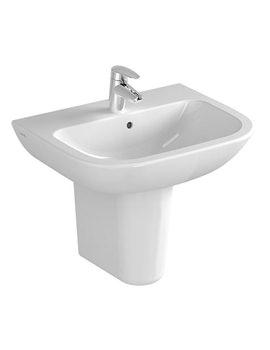 S20 1TH Cloakroom Basin 45cm - 5500L003-0999