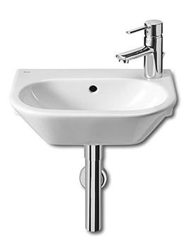Nexo White Cloakroom Basin 405 x 275mm Wide - 327645000