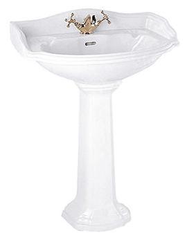Oxford 655mm Large Basin White - OX1LB11030