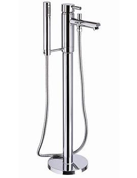 Mayfair Series F Floorstanding Bath Shower Mixer Tap With Kit - SFL073