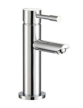 F Series Cloakroom Mono Basin Mixer Tap 156mm High - SFL059