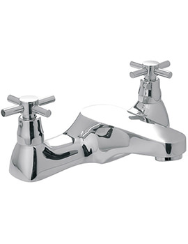 Vecta Deck Mounted Bath Filler Tap - VEC-137-CD-CP