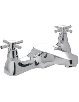 Vecta Deck Mounted Bath Filler Tap - VEC-137-CD-CP
