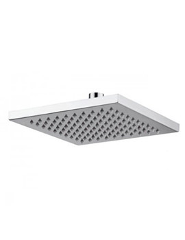 Abode Euphoria Fixed Square Shower Head - AB2408