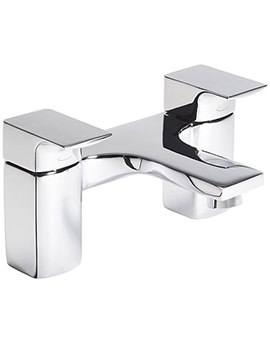 Siren Deck Mounted Bath Filler Tap Chrome - TSN32