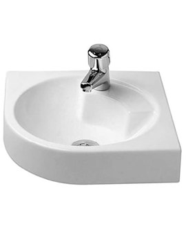 Duravit Architec 635mm Corner Washbasin - 0448450000