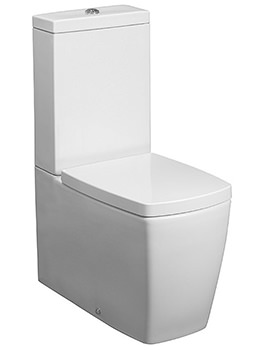 Related Bauhaus Touch Close Coupled WC With Cistern And Soft close Seat