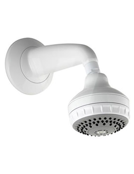 Aqualisa Varispray Concealed Fixed Shower Head White - 99.50.20