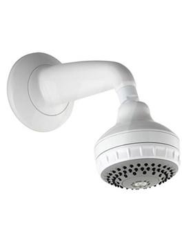 Varispray Concealed Fixed Shower Head White - 99.50.20