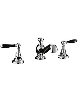 Imperial Notte 3 Hole Basin Mixer Tap - ZXT6049100