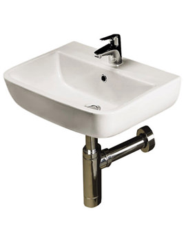 RAK Series 600 1 Tap Hole Hand Basin 400mm - S60040BAS1
