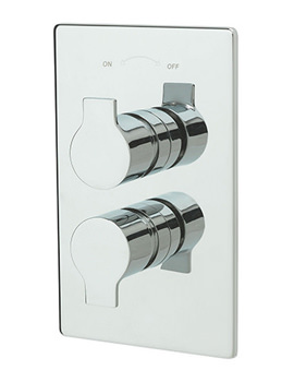 Ora Thermostatic Concealed Shower Valve And 2 Way Diverter