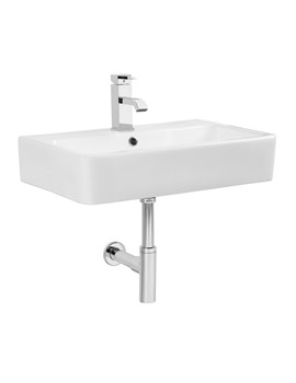Q60 White 575mm Ceramic Basin - SB900S
