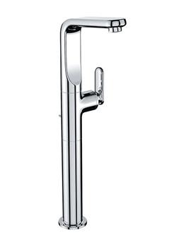 Veris Single Lever Basin Mixer Tap Half Inch Chrome