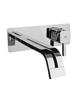 Noken Neox Wall Mounted Basin Mixer Tap With 260mm Spout