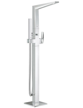 Allure Brilliant Floor Standing Bath Shower Mixer Tap