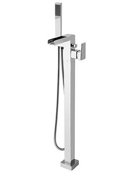 Floor Mounted Single Lever Bath Shower Mixer Tap