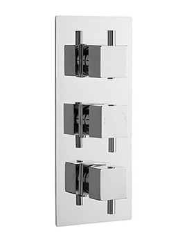 Related Lauren Series L Triple Concealed Thermostatic Shower Valve