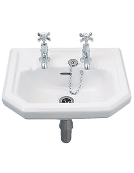Clarice Handrinse Washbasin 450 x 385mm - CL4811WH