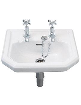 Clarice Handrinse Washbasin 450 x 385mm - CL4811WH