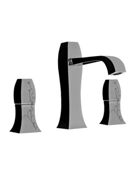 Related Porcelanosa Noken Dune Silk 3 Hole Basin Mixer Tap With Pop-Up Waste