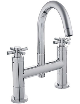 Tec Crosshead Bath Filler With Small Spout