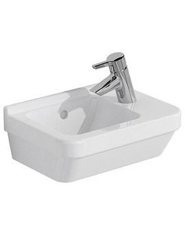 S50 Compact 400 x 280mm Right Handed Basin