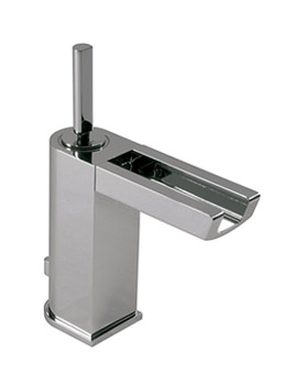 Noken Nora Single Lever Basin Mixer Tap With Light And Waste