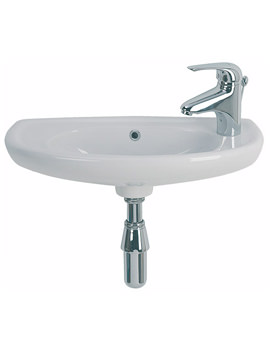 Twyford Galerie Optimise Short Projection Handrinse Basin 535 x 260mm