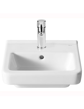 Dama-N Compact Wall Hung Basin With 1 Tap Hole