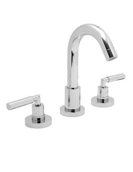 Nuance 3 Hole Basin Mixer Tap With Pop-Up Waste - NUA-101