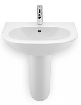 Roca Nexo 550mm Wide Wall Mounted Basin - 600 And 680mm Width Optional