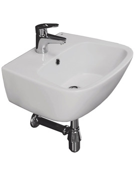 Elena 450mm 1 Tap Hole Wall Hung Wash Basin - ELEN45BAS1