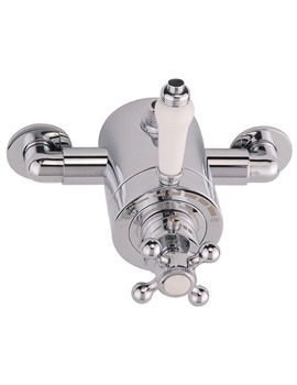 Related Mayfair Traditional Crosshead Exposed Thermostatic Shower Valve TRA210