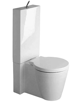 Starck 1 Close Coupled Toilet With Cistern And Seat - 0233090064