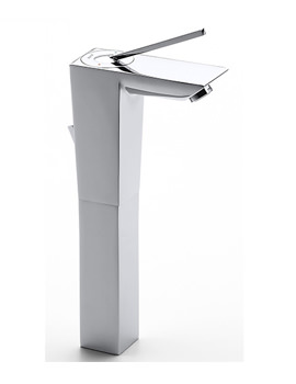 Touch Extended Basin Mixer Tap With Pop-Up Waste - 5A3447C00