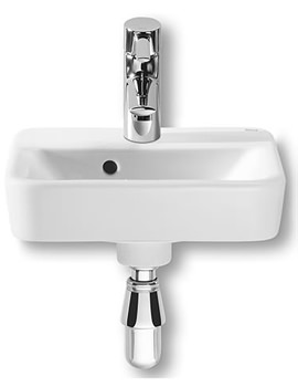 Senso Square Cloakroom 1 Tap Hole Basin 350mm Width - 32751D000
