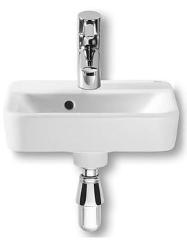 Senso Square Cloakroom 1 Tap Hole Basin 350mm Width - 32751D000