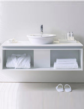 Starck 1 Basin 480mm On Darling New 1000mm Furniture - DN645001451