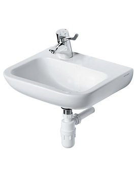 Portman 21 40cm Basin With 1 Left Hand Tap Hole