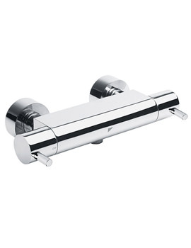 Storm Bottom Outlet Bar Shower Valve Chrome - SV2208