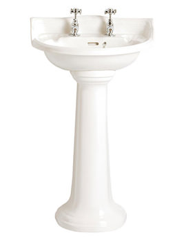 Dorchester Cloakroom Basin With 1 Taphole - PDW071