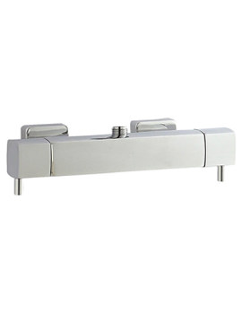 Quadro Thermostatic Bar Shower Valve Top Outlet - A3502