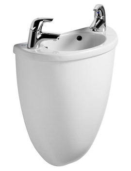 Ideal Standard Space Micro Handrinse Basin And Semi Shroud 400mm