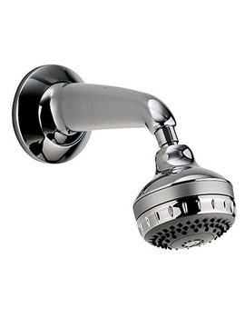 Aqualisa Turbostream Fixed Shower Head Kit Chrome - 99.30.01